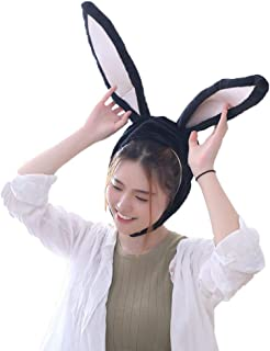 NACOCO Girl Rabbit Hat Eastern Bunny Hat Bunny Ears Cap Funny Party Holiday Hat Cute Costume for Men and Women