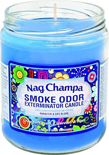 Smoke Odor Exterminator 13 Oz Jar Candle Nag Champa by Tobacco Outlet Products
