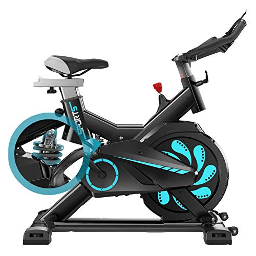 LeeBZ Exercise Bike For Home, Stationary Indoor Cycling Bicycle, Stationary Spin Bike With Tablet Holder For Home Cardio Workout, Belt Drive Smooth &Quiet, 330Lbs Weight Capacity