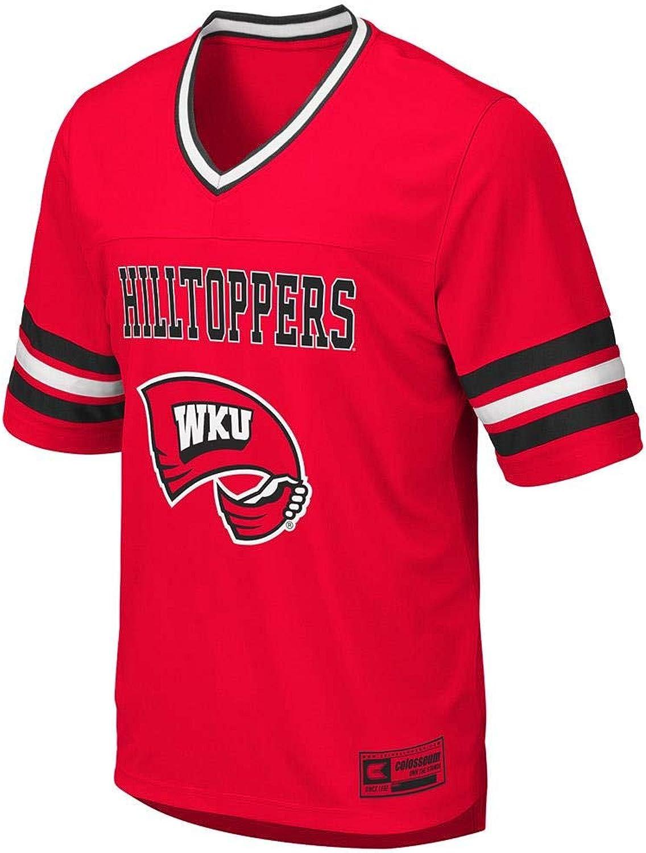 Colosseum Mens WKU Western Kentucky Hilltoppers Football Jersey