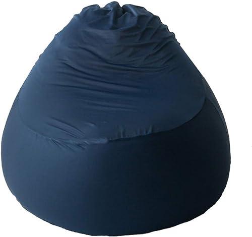 ASDF Bean Bag Type de Poire de siège de siège de Type de Poire Paresseux Sofa d'enfants extérieur Stable Stable approprié aux Jeux BBB (Couleur   bleu, Taille   95×95×85cm)