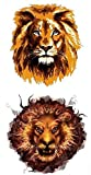 K427 - Tatuaje falso de león