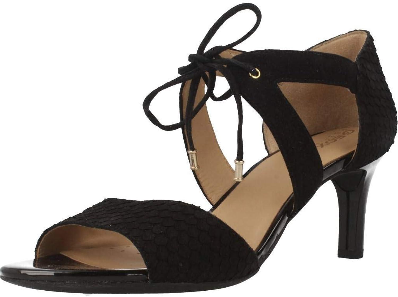 Geox Damen Sandalen, Farbe Schwarz, Marke, Modell Modell Damen Sandalen D CELEINA Schwarz  Alle Waren sind Specials