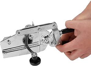 Alicates de doblado manuales portátiles con mango ergonómico, cortador de sierra de chapa metálica industrial, doblador rápido manual de abrazadera de letras, peso ligero y rendimiento rápido