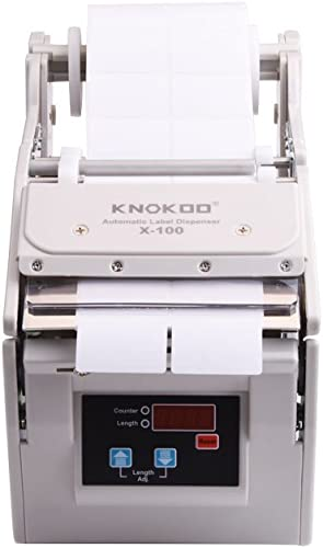 lowest Automatic Label outlet sale Dispenser X-100 with Speed Control wholesale Label Stripper Separating Machine sale