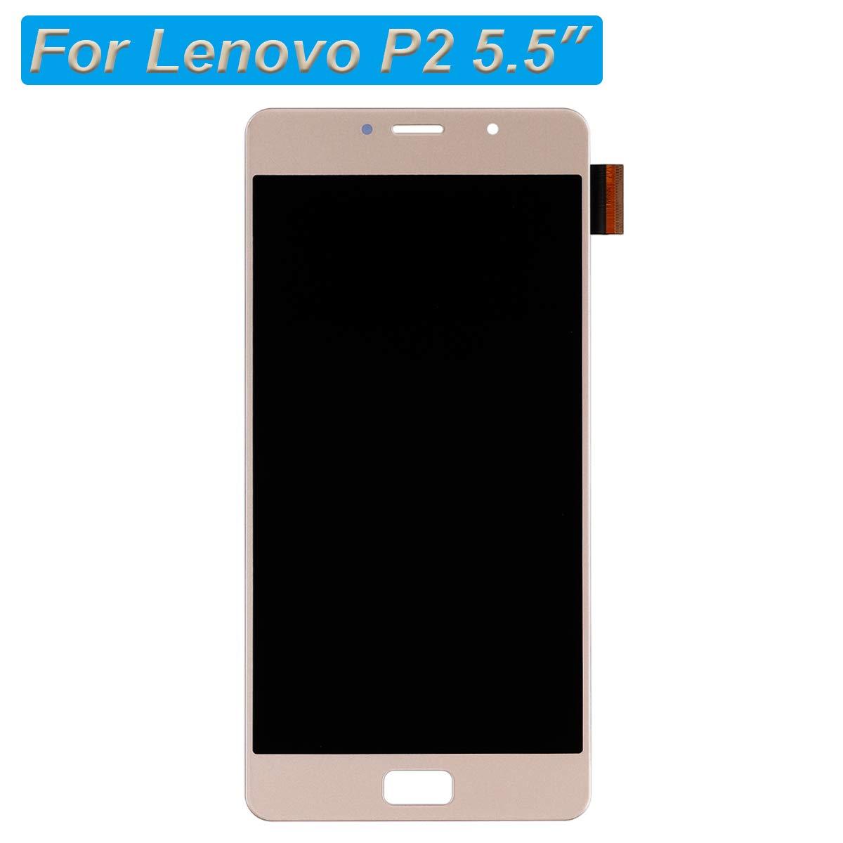 E-yiviil - Pantalla LCD táctil Compatible con Lenovo P2 de 5,5 ...