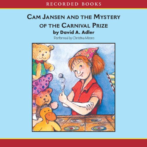 Cam Jansen: The Mystery of the Carnival Prize #9 audiobook cover art