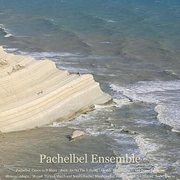 Pachelbel: Canon in D Major / Bach: Air On The G String / Vivaldi: Paris Concerto and Guitar Concerto / Albinoni: Adagio / Mozart: Turkish March and Sonata Facile / Mendelssohn: Wedding March / Wagner: Bridal Chorus