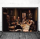 Gangster Godfather Goodfellas Gesicht Sopran Movie Art Poster Leinwand Gemälde Wandbild Home Decoration Poster Und Drucke 42X60 cm Ohne Rahmen