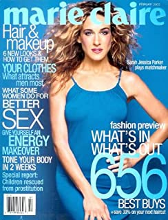 Marie Claire - February 2000: Sarah Jessica Parker Cover & Feature