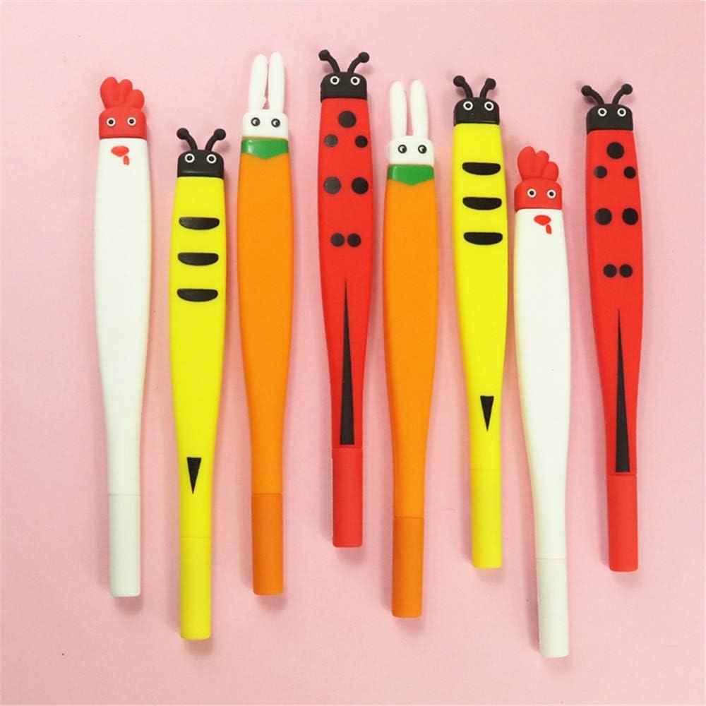 Cartoon cute animals Shape Cute Kawaii Pens offic school Gel sold Brand new out Ink