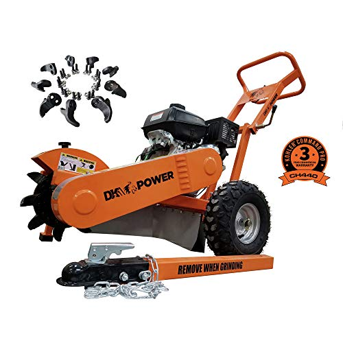 Detail K2 DK2 Power Gas Powered Certified Commercial Frame Stump Grinder with 14HP Kohler Motor and...