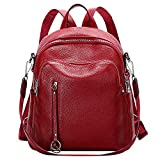 ALTOSY Fashion Genuine Leather Backpack Purse for Women Shoulder Bag...
