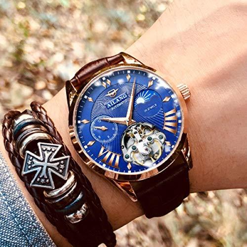 Los Hombres S Suiza Reloj Diesel Hombres Relojes Automáticos De Buceo Hombre Luminoso Impermeable Mecánico De Steampunk Reloj Hyococ (Color : 4)