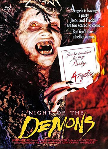 Night of the Demons - Limitiertes Medíabook auf 222 Stück (+ DVD) - Cover C [Blu-ray]