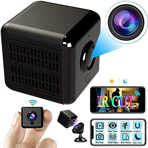 Hidden Camera 1080P HD Mini Camera Wireless WiFi Home Security Camera A28 Pro,Portable IP Spy Camera Waterproof Outdoor Indoor Nanny Cam with Smartphone app,Night Vision,IR Cut