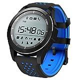 Padgene Reloj Deporte Inteligente Smartwatch Deportivo Bluetooth 4.0 Fitness Rastreador IP68 Impermeable con Podómetro para Android y iOS, Negro