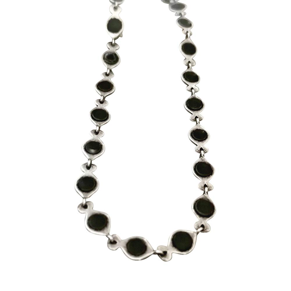 Anklet for Philadelphia Mall Women with Black Max 80% OFF and Dainty Chain Silver Ankl Rustic
