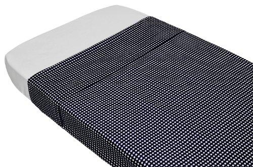 Taftan Drap de Lit Vichy noir (100 x 80 cm) - Noir