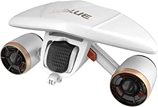 subSue WhiteShark Mix Underwater Scooter Dual Motors، سازگار با دوربین اکشن، استخر شنای ورزش های آبی غواصی برای کودکان / بزرگسالان