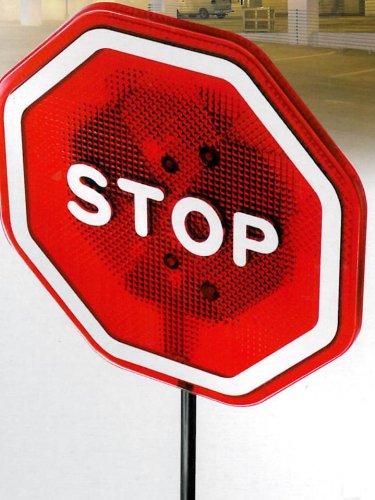 Stoppschild die persönliche Einparkhilfe ideal für Garage und Carport von Mr.Krieger