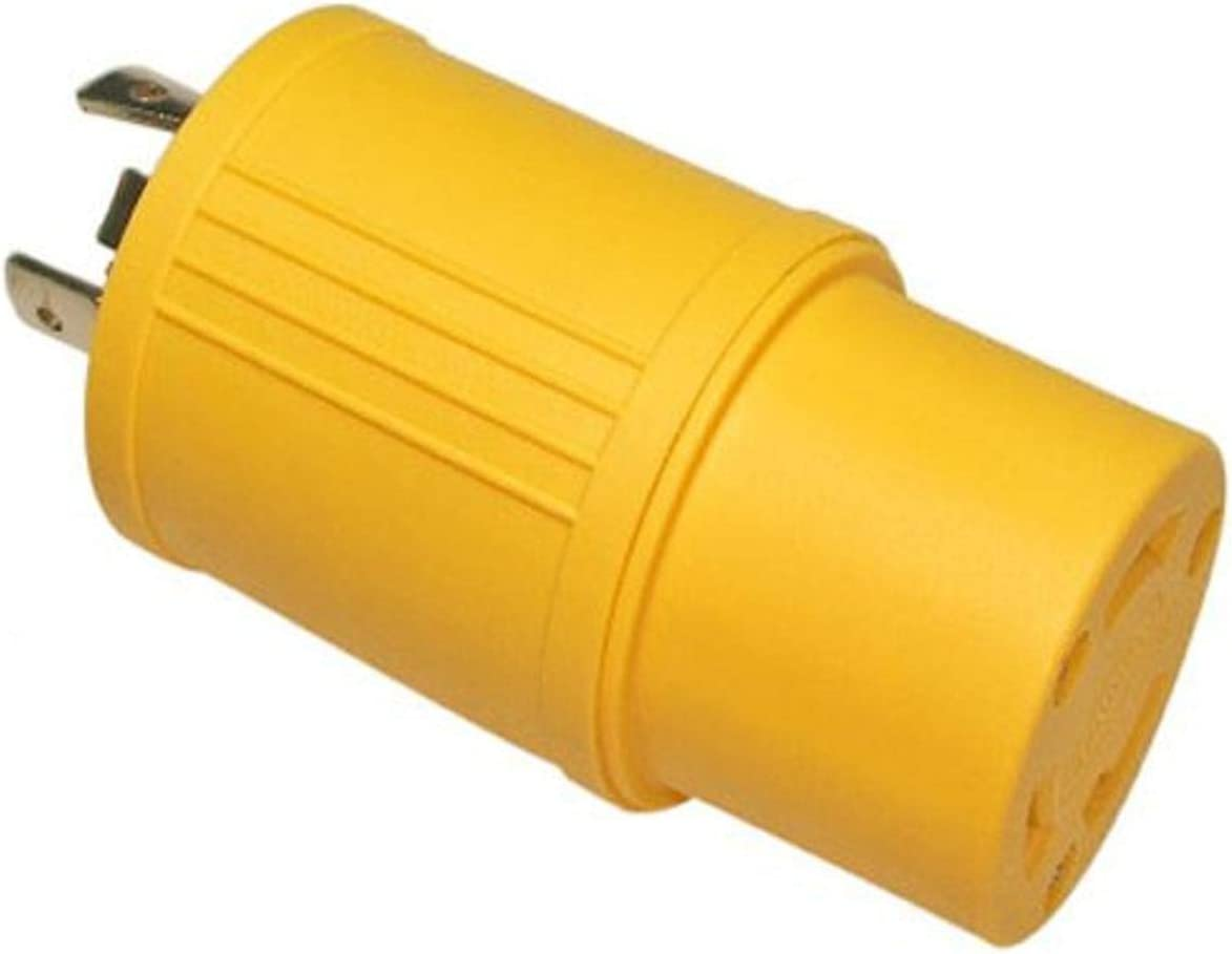Ranking TOP19 Conntek Locking Adapter 20-Amp 125-Volt 3 Special price L5-20P Plug to