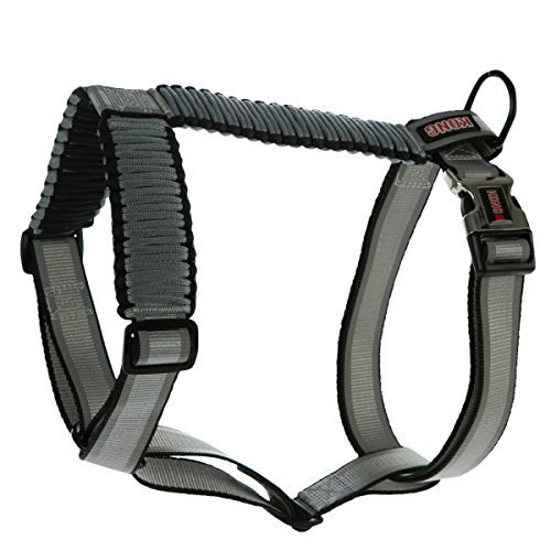 KONG Reflective Paracord Harness Grey X-Small