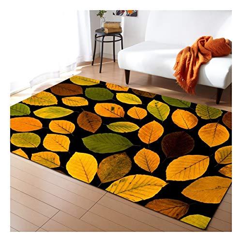 Alfombra del área Habitación alfombra moderna minimalista de poliéster manta de área de estar independiente Sofá Mesa Mat dormitorio de noche no del resbalón Alfombras ( Color : C , Size : 120*160cm )