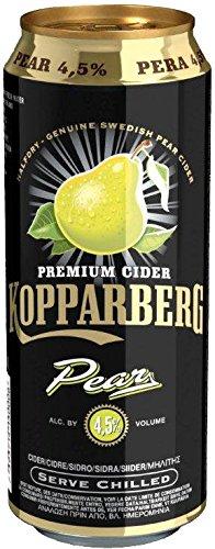 Kopparberg Sidra Pear - 12 Paquetes de 500 ml - Total: 6000