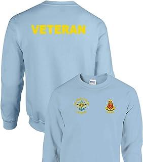 Embroidered/Printed Veteran QLR Unisex Cotton Classic Sweatshirt