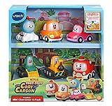 VTech Toot-Toot Drivers Cory Carson Mini Vehículo, Set de Coche de Juguete para Niños para Juego Imaginativo, Mini Juegos de Coche para Niños y Niñas de 2, 3, 4, 5 años +