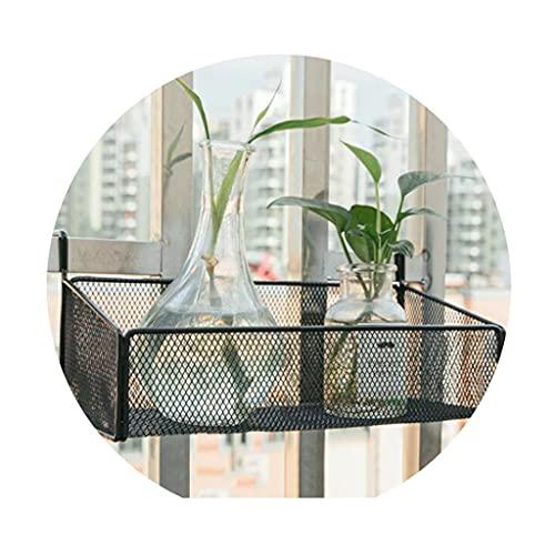 Jardinería Estante para escritorio de oficina Soporte de flores para el alféizar de la ventana del balcón Estante de almacenamiento en maceta suculento suspendido plantas de balcón Huertos urb