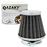 QAZAKY Universal 38mm 39mm 40mm 1.5' Air Filter Cleaner Replacement for 50cc 90cc 110cc 125cc 150cc 200cc GY6 Motorcycle ATV Scooter Quad Go Kart Moped Pit Dirt Racing Bike Yamaha Suzuki Baja TaoTao
