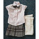 人形の服 人形のためにカスタマイズされた学校制服 ラブドール 衣装 Chloeの衣装 ミニドールの衣装 (65cmドール用)