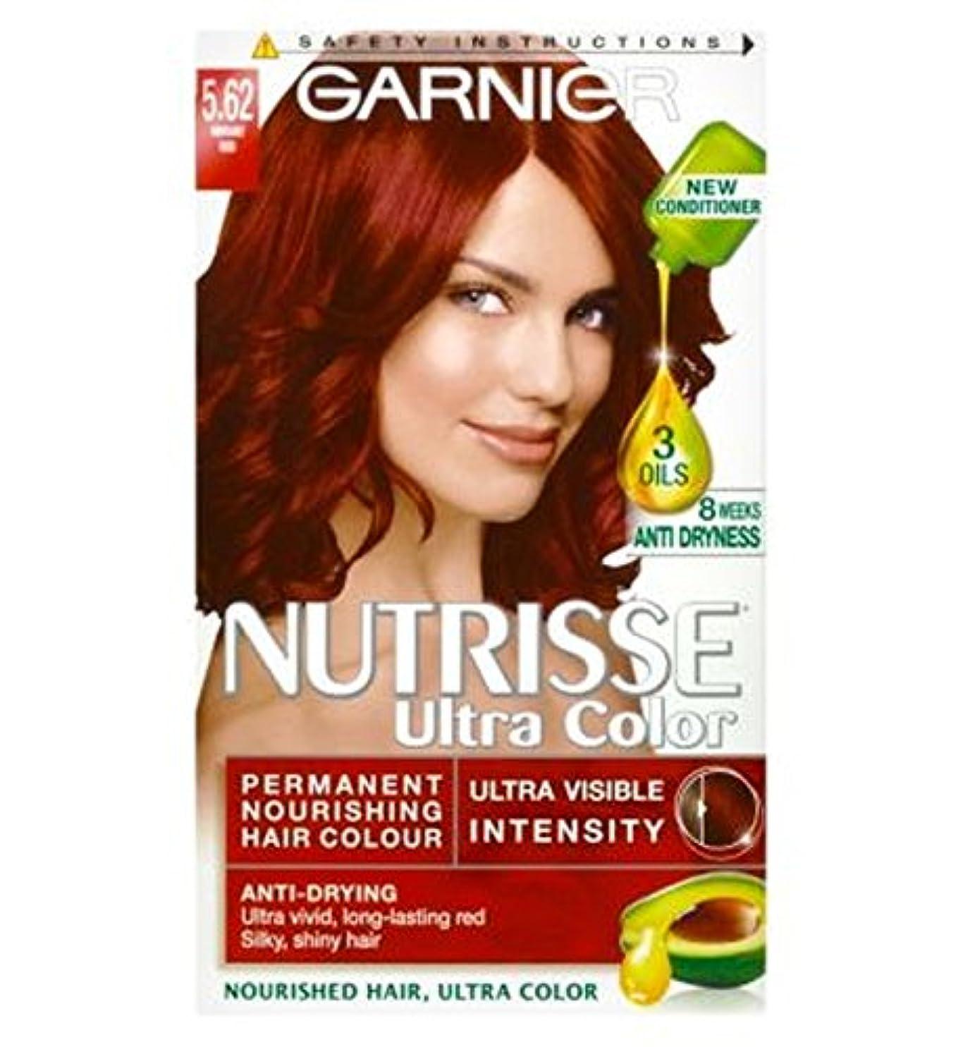 鉱夫五十ファーザーファージュガルニエNutrisse超永久色5.62活気のある赤 (Garnier) (x2) - Garnier Nutrisse Ultra Permanent Colour 5.62 Vibrant Red (Pack of 2) [並行輸入品]
