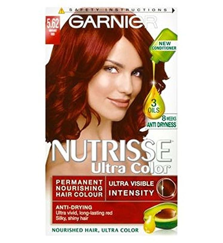 ジャーナルサンダル刻むGarnier Nutrisse Ultra Permanent Colour 5.62 Vibrant Red - ガルニエNutrisse超永久色5.62活気のある赤 (Garnier) [並行輸入品]