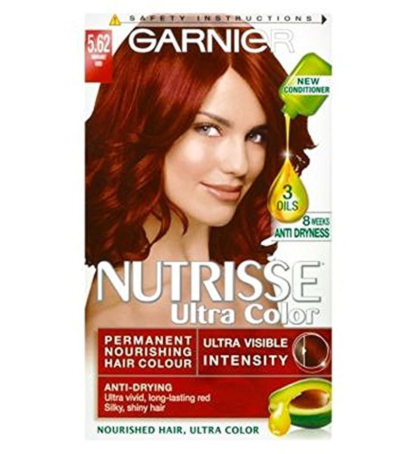漏斗ブラジャー滴下Garnier Nutrisse Ultra Permanent Colour 5.62 Vibrant Red - ガルニエNutrisse超永久色5.62活気のある赤 (Garnier) [並行輸入品]