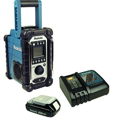 Baustellenradio mit Akku und Ladegerät–DMR 107–Makita