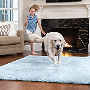 Gorilla Grip Original Faux-Chinchilla Rug, Many Colors, Soft Cozy Pile Washable Kids Carpet, Modern Rugs, Softest, Luxury Shaggy Carpets for Home, Nursery, Bed and Living Room