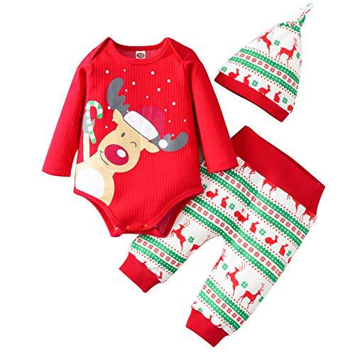 My First Christmas Babyset Mein erster Weihnachts Baby Bekleidung Set Neugeborenes...