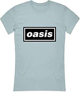 T-Shirt # L Ladies Blue # Decca Logo