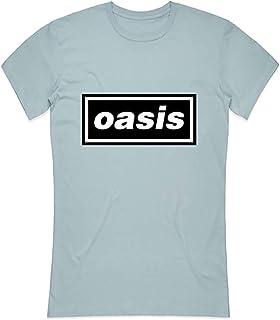 T-Shirt # XL Ladies Blue # Decca Logo [Import]