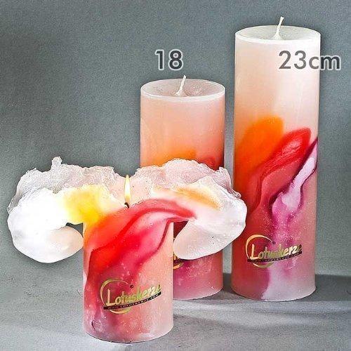 Lotus-Kerzen ART Fire, 18cm