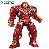 XCZMZ Marvel Avengers Infinity War Lighting Hulk Buster Iron Man Figura Acción PVC Colección Modelo ...