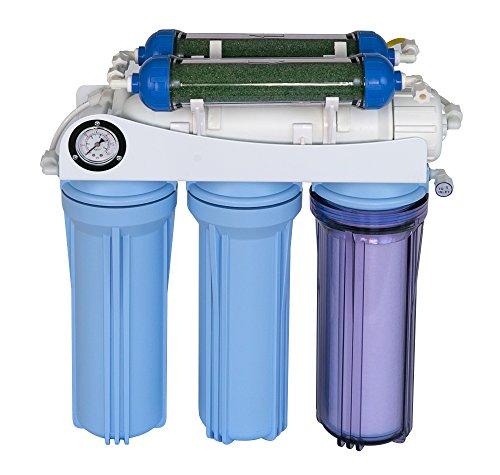Koolermax AR-122 6-stage RO+DI Aquarium Reef Reverse Osmosis Water System 150 GPD New Complete