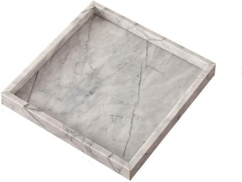 Food Trays,Serving Tray Genuine Creative Home V Texture excellence Marble Natural