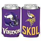 WinCraft Minnesota Vikings Slogan Can Cooler 12 oz.