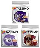 Tassimo T Discs Pods: Paquete de chocolate caliente - MILKA, CADBURY, SUCHARD 32 PODS