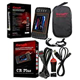 iCarsoft CR Plus 2018 VERSION Professional Universal OBD2 Diagnostic Scanner Tool SRS ABS ENGINE TRANSMISSION with MAP Lanyard