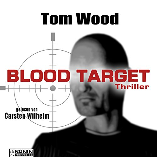 Blood Target audiobook cover art
